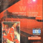 Bristol City v Swansea City FA Cup First Round 1996