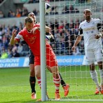 Late comedy defending leaves the Swans Pointless against Southampton – Match Report
