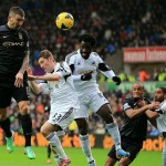 The Swans lose out to Citeh in 5 goal thriller