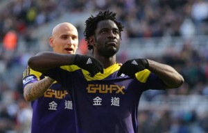 Bony scores against Newcastle