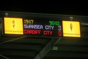 Swans 3 Cardiff 0