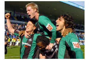 Swans promoted at Gillingham