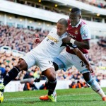 Swans beaten by physical West Ham