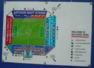 Crystal Palace Ground Plan