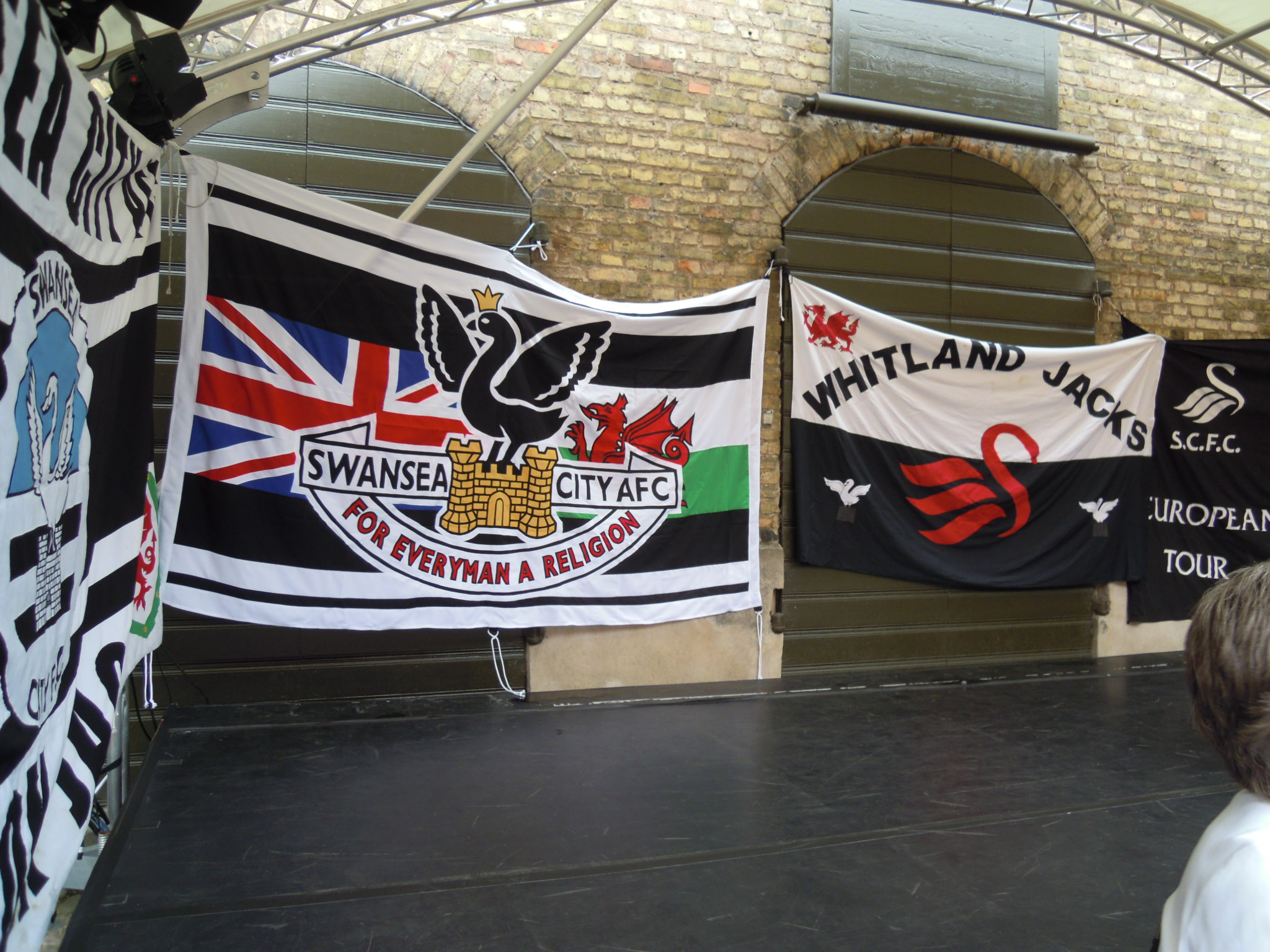 Swansea Flags in Malmo