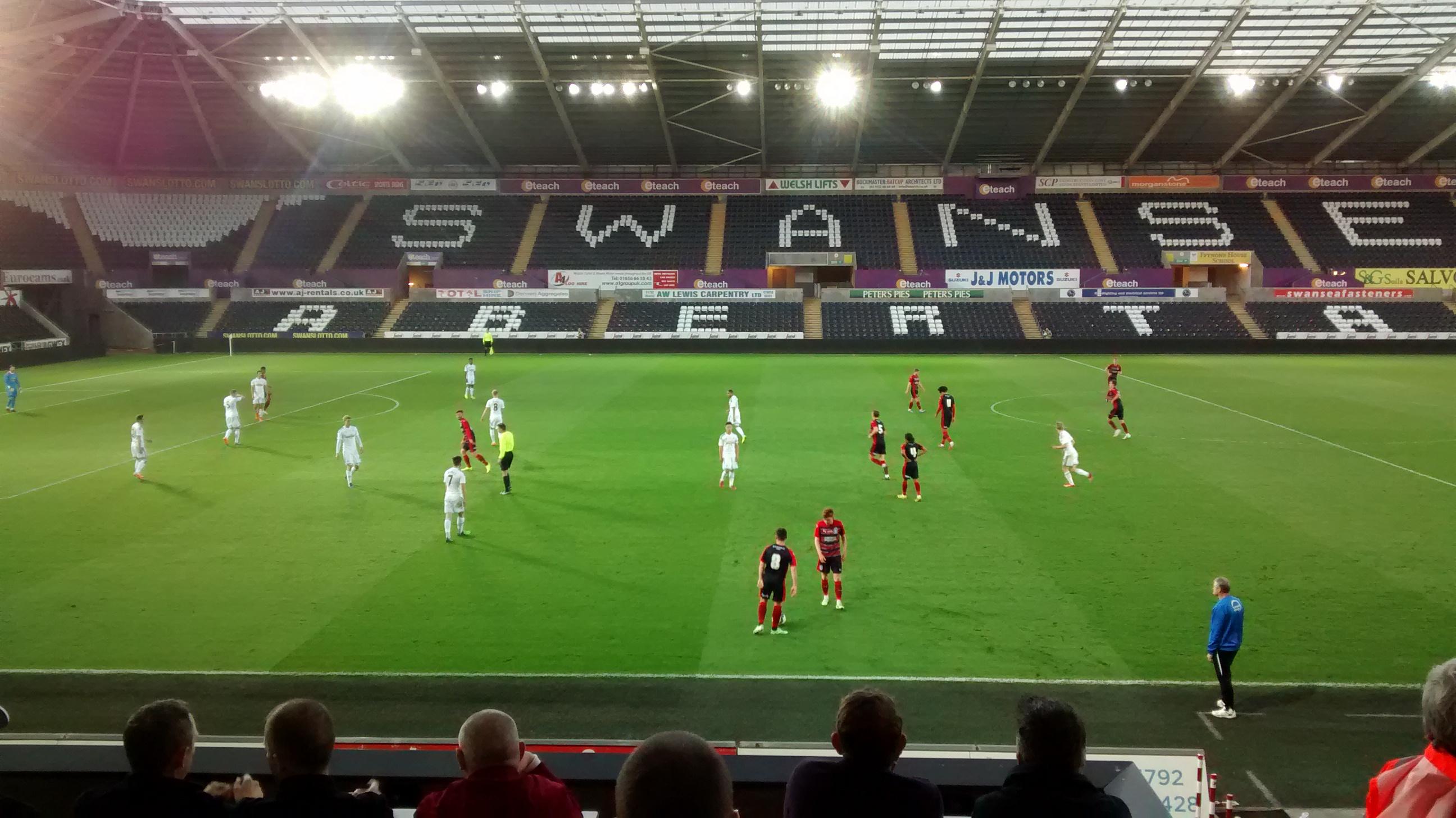 Swans U21s v Huddersfield U21s