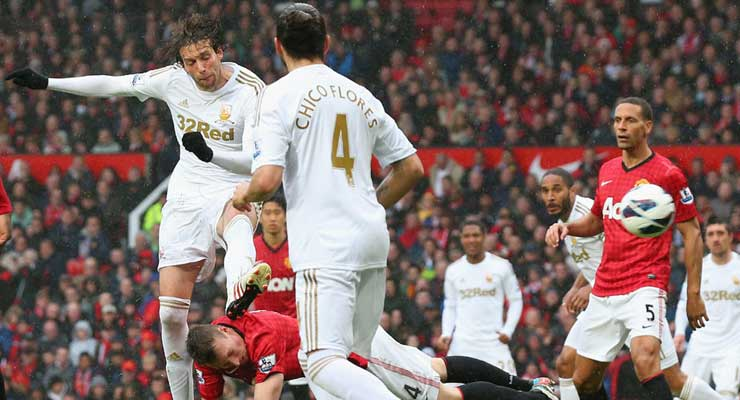 Michu Goal Man Utd