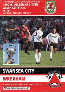 Swansea v Wrexham - Welsh Cup Programme
