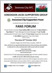 Ceredigion Jacks Launch Poster