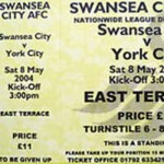 Swansea City v York City - Ticket