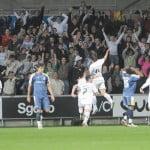 Jordi Gomez Scoring against Cardiff City