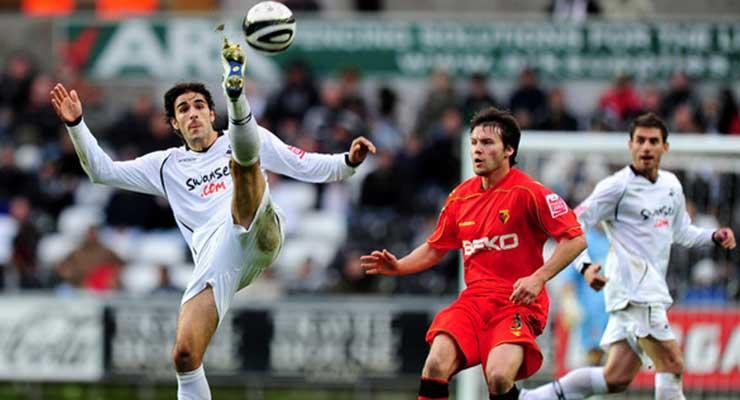 Swans v Watford in 2011