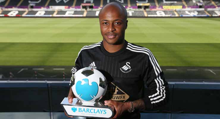 Andrew Ayew - Barclays Player of the Month August 2015