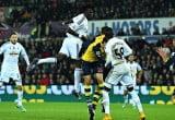 Bafetimbi Gomis - Swansea v Arsenal