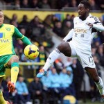 Norwich v Swansea - Nathan Dyer