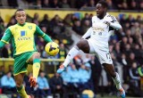 Norwich v Swansea - Nathan Dyer