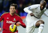 Michu - Swansea - Gallas - Spurs