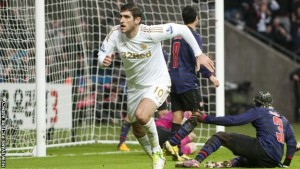 Danny Graham - Swansea v Arsenal - FA Cup