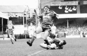Lee Bracey against Liverpool