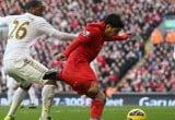 Liverpool v Swansea City Premier League 2013