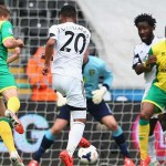 Swansea City v Norwich City - March 2014