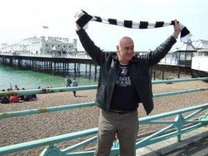 Mike Thomas at Brighton in 2008