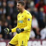 Lukasz Fabianski v Burnley