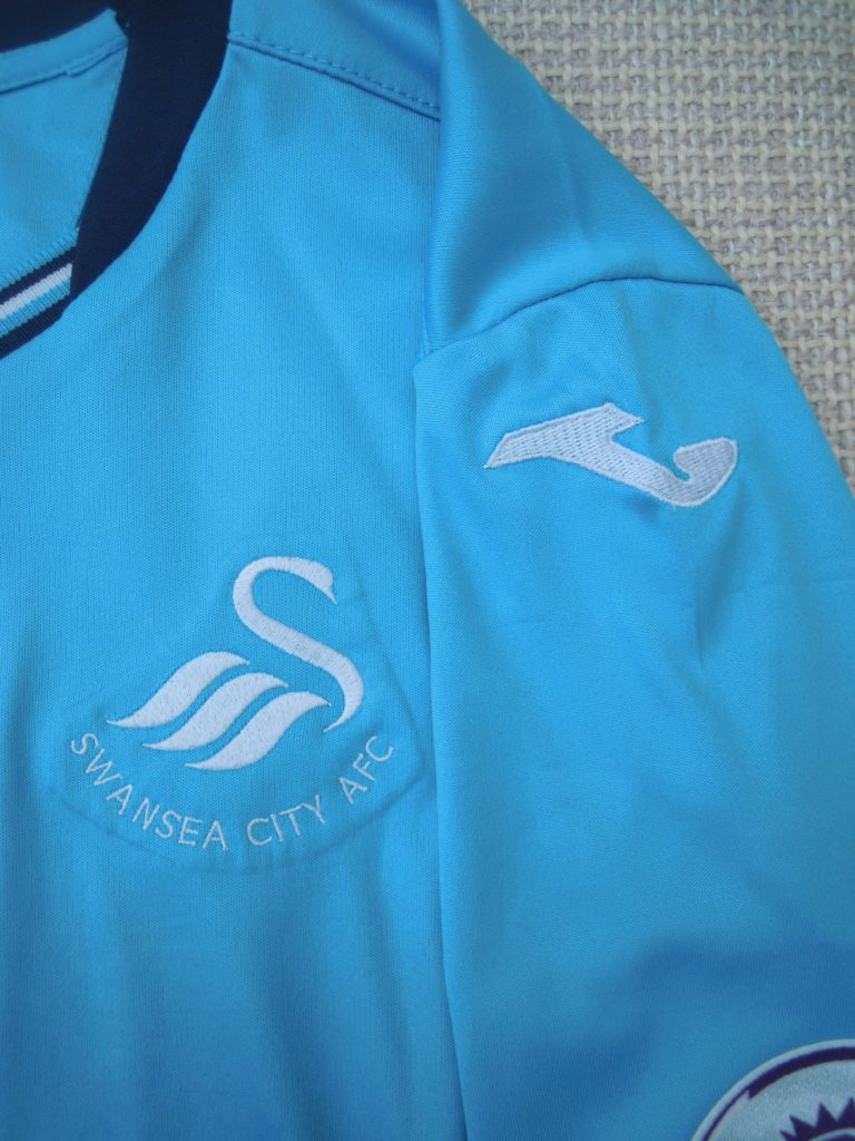 left sleeve Joma Swans Away Shirt
