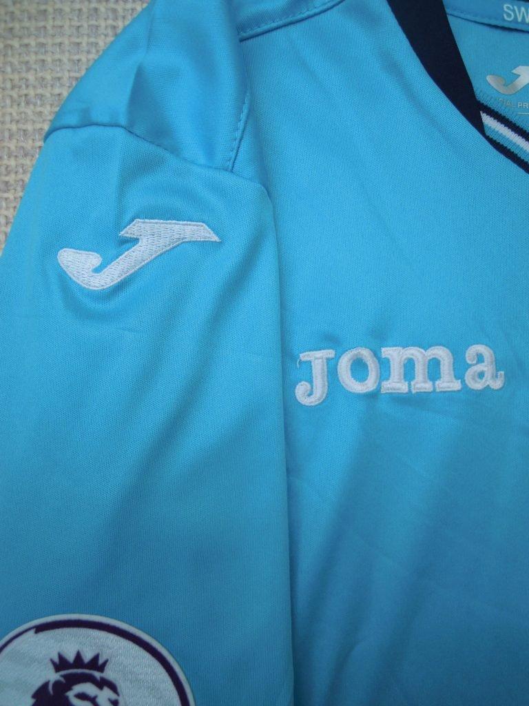 right sleeve Joma Swans Away Shirt