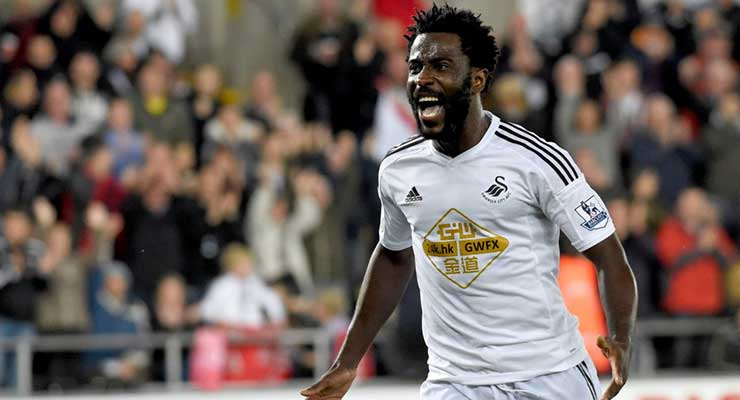 Wilfried Bony - Swans on this Day