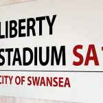 Liberty Stadium sign
