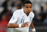 Scott Sinclair playing for England