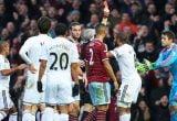 Fabianski sent off v West Ham United