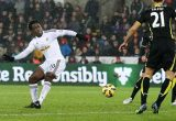 Wilfried Bony v Spurs in 2014