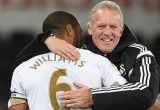 Ashley Williams and Alan Curtis