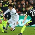 Ki against Arsenal - January 2017