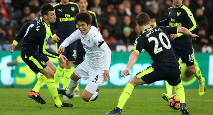 Man of the Match – Swans v Arsenal – Premier League 2016-2017