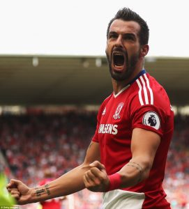 Alvaro Negredo - Middlesbrough