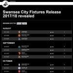 Fixtures 2017-2018