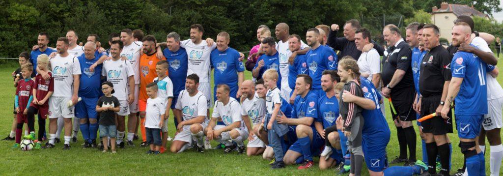 2017 Charity Game Team Photo