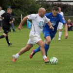 Andy Robinson playing at a Charity Match