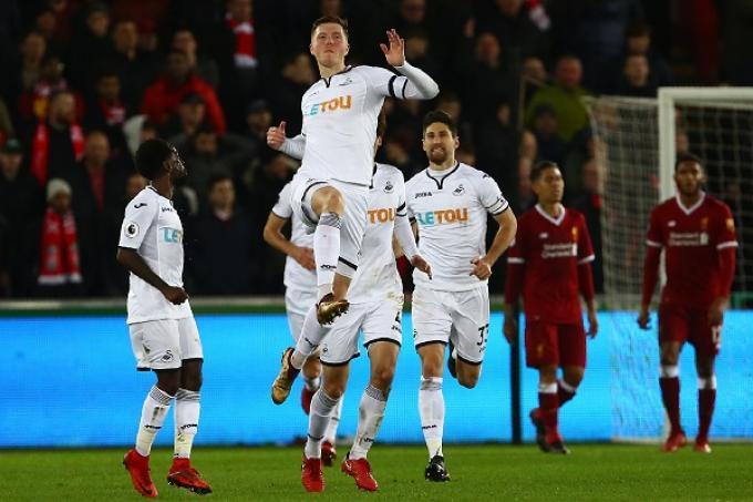 Mawson celebrates goal
