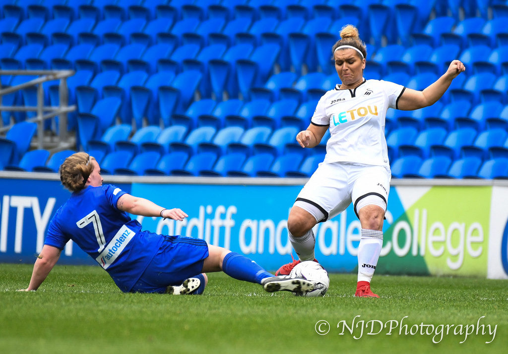 Jodie Passmore v Cardiff City Ladies