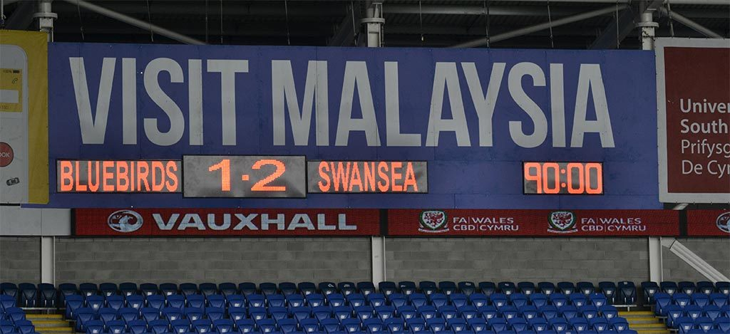 Swans beat Bluebirds