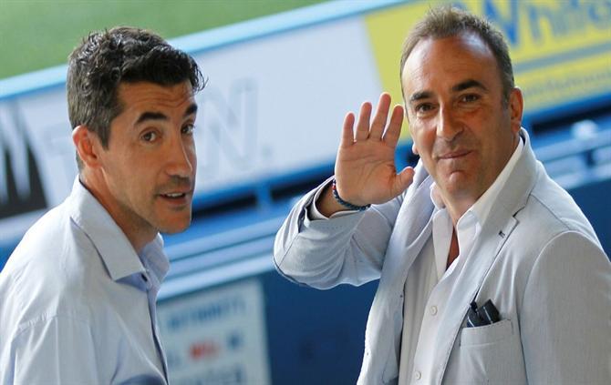 Bruno Lage and Carlos Carvalhal