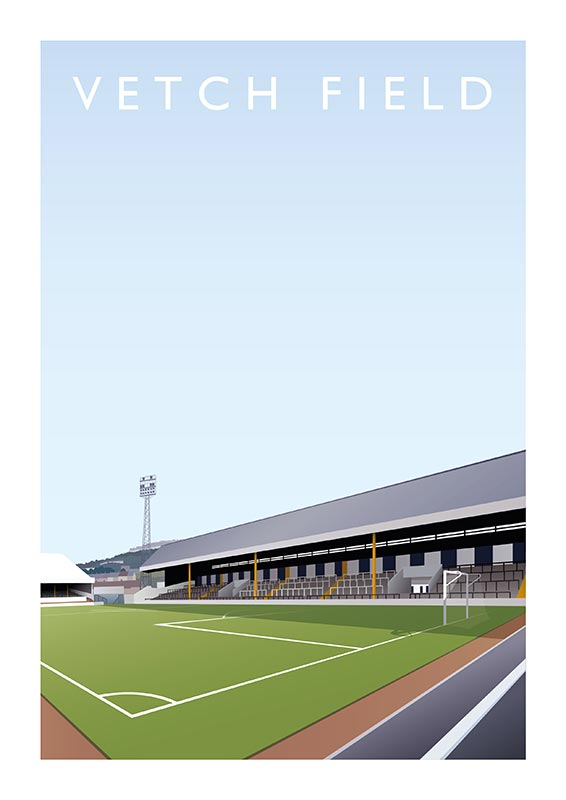 vetch field print