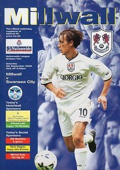 Millwall v Swans - September 2000
