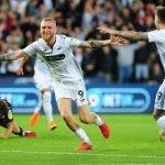 McBurnie scores against Leeds