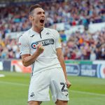 Connor Roberts celebrates scoring