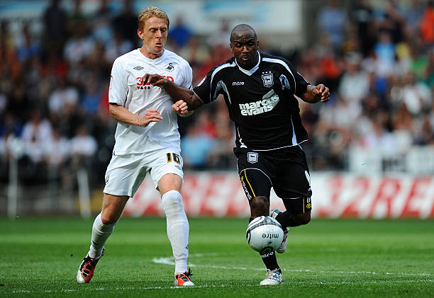Garry Monk and Jason Scotland
